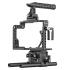 Stratus Complete Cage for Panasonic GH4 And GH5, Includes Top Handle, Rods, Base, Frame and Cable Clamp