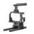 Stratus Complete Cage for Sony A6500 A6400 Camera Body, Includes Top Handle, Rods, Base, Frame and Cable Clamp