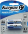 Energizer e2 Lithium AA Batteries 2 Pack
