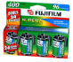 Fuji 35mm ISO400 4 Pack Film