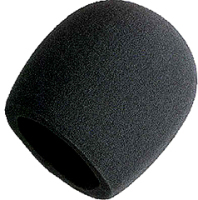 Shure Black Foam Windscreen for Shure Microphones image