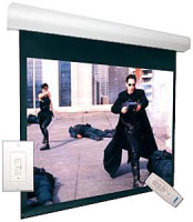 "VUTEC Lectric I RF-200 119""x 159"" Projection Screen image"
