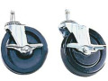 H. Wilson Set of four Extra Wide 1 1/2-in. x 5-in diameter Casters