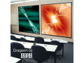 Draper 74-in. .x 98-in. Cineperm HiDef Grey Projection Screen