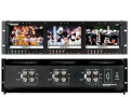 "Marshall V-R63P Triple 5.8"" LCD Monitor Rack Mount Panel"