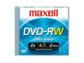 Maxell DVD-RW 15-Pack Rewritable Disc Spindle