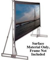 "Draper 12'3""x 21' Cinefold Cineflex Rear Projection -HDTV Format (Surface Material Only, Frame Not Included) image"