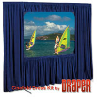 Draper Valance for Cinefold 12'x 12' - Square Format image