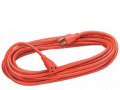 Fellowes 25FT Indoor/Out Extension Cord 1-Outlet HD Orange-3-Prong