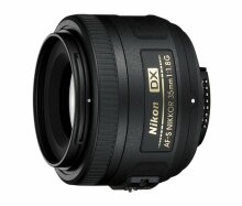 Nikon 35mm F1.8 G AF-S DX NIKKOR Lens (52mm Filter Size) image