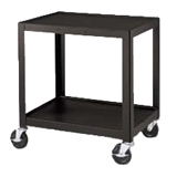 "Wilson 26"" Fixed Height Metal Cart with Electric image"