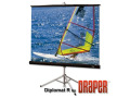 Draper Diplomat 215007 Portable Projection Screen