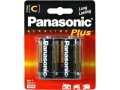 Panasonic C-Size Alkaline Plus Battery Pack