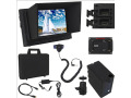 "Varizoom VZM7K 7"" HDMI LCD Monitor Kit Deluxe w/Sunhood,Battery,Charger,Case"