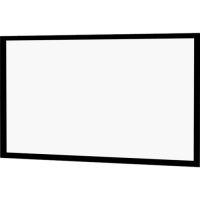 "Da-Lite Cinema Contour Fixed Frame Projection Screen - 189"" - 16:10 image"