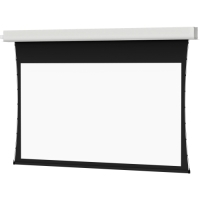 "Da-Lite Tensioned Advantage Deluxe Electrol Electric Projection Screen - 137"" - 16:10 - Recessed/In-Ceiling Mount image"