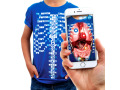 Curiscope Virtual-Tee K-5 Youth L Blue
