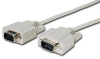 Comprehensive DB9 pin Plug to Plug (wired pin to pin) RS-232 Cable 25ft