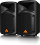 EUROPORT EPS500MP3 Ultra-Compact 500-Watt 8-Channel Portable PA System with MP3 Player