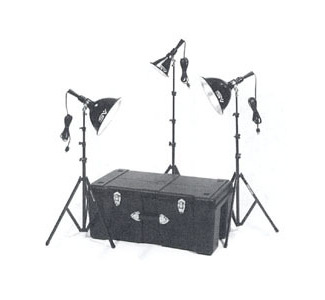 Smith-Victor 1250-Watt Home Portrait Kit
