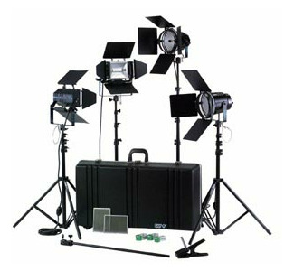 Smith-Victor 4000 Watt Pro Studio Kit
