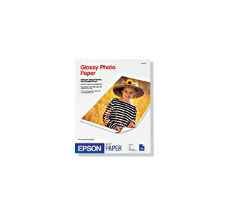 "Epson 13""x19"" Photo Paper Glossy 20 Sheets"