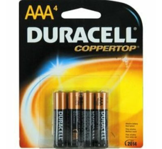 Duracell Battery AAA 4-Pack Alkaline 1.5V