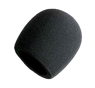 Shure Black Foam Windscreen for Shure Microphones