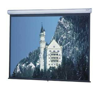 Da-Lite 8' x 8' Model C - High Contrast Matte White