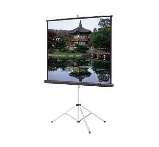 Da-Lite 76753 Carpeted Picture King Tripod Projection Screen