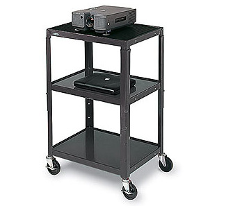 BRETFORD Adjustable Audio Visual Cart