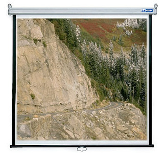"VUTEC EconoPro 60""x60"" Manual Wall Screen"