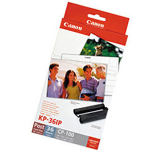 Canon KP-36IP Paper/Ink Set f/CP100/200/300