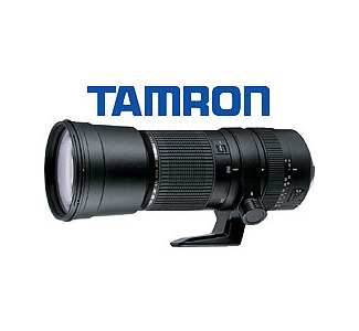 Tamron SP AF200-500 5.6-6.3 Zoom Lens with Nikon Mount