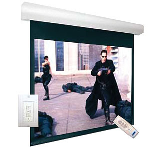 "Lectric I RF Wall/Ceiling-Mounted Screen - 72""x 96"""