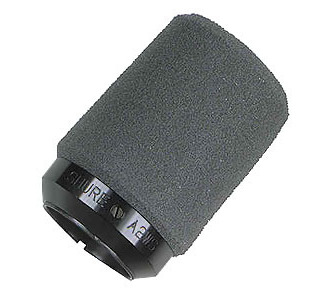 SHURE A2WS-BLK Locking Foam Windscreen
