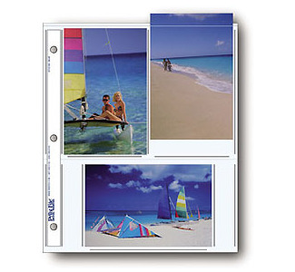 "Print File Clear 4x6"" Print Pages - 25 Sheets"