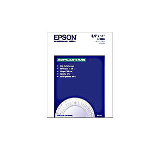 "EPSON Enhanced Matte Paper 8-1/2""x 11"" - 50 Sheets"