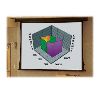 "Draper Premier M1300 96""x 96"" Motorized Projection Screen"