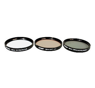 TIFFEN 58TPK1 58mm 3-Piece Filter Set