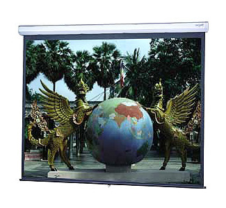 "DA-LITE Model C with CSR 70""x 70"" Matte White Projection Screen"