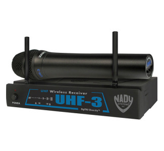 Nady UHF-3 Handheld Wireless Mic System