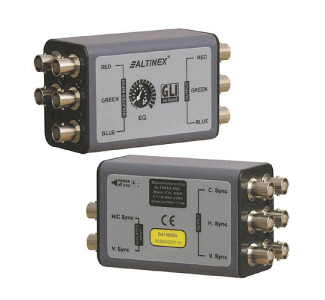 Altinex 1-In 1-Out RGBHV Line Driver/Isolator DA1905GL