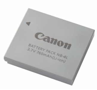Canon Battery Pack NB-4L (9763A001)