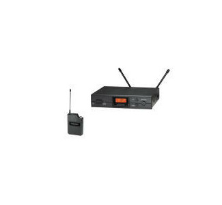 Audio-Technica ATW-R2100 Receiver and ATW-T210 UniPak Transmitter (No Mic.)