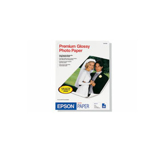 "Epson 11.7""x16.5"" Premium Glossy Photo Paper 20 Sheets"