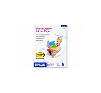 Epson Photo Quality Ink Jet Paper, Letter Size