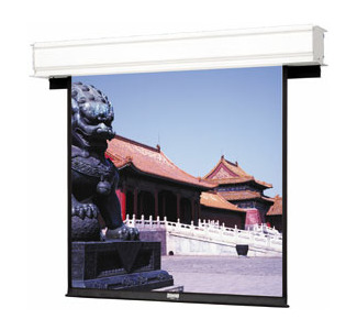 "Da-Lite 54"" x 96 Advantage Deluxe Electrol Concealed Ceiling Screen Matte White"