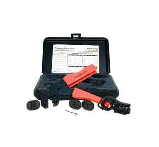Comprehensive Pro Hex Crimp Kit with tool, four dies and case CT-9500
