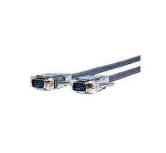 Comprehensive Plenum VGA/UXGA HD15 plug to plug cable 6ft VGA15P-P-6HRP